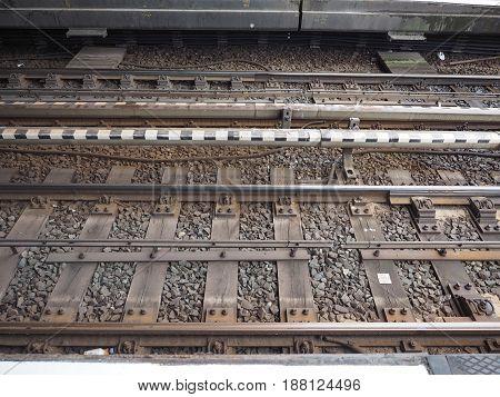 Railroad Railway Tracks