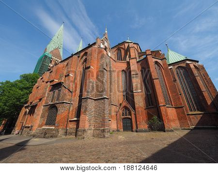 St Marien Church In Luebeck