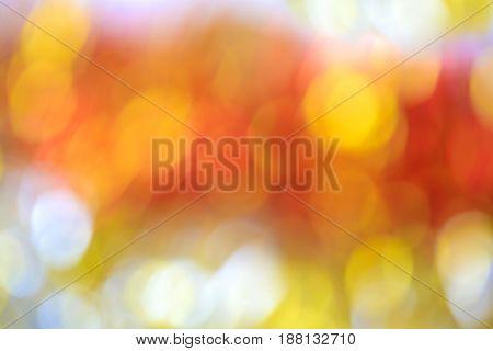 Blurry Focus Lighting Color Effects Defocused Background