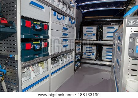 Secure In Vehicle Storage Equipment