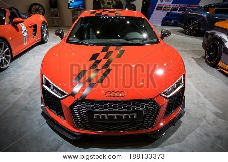 Audi Tt Sports Car