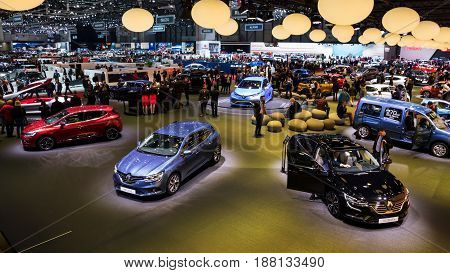 Geneva Motor Show Renault