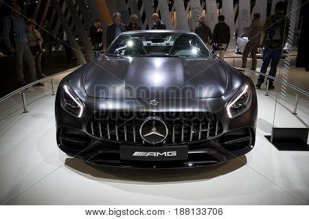 2017 Mercedes Benz Amg Gt 50 Edition Sports Car