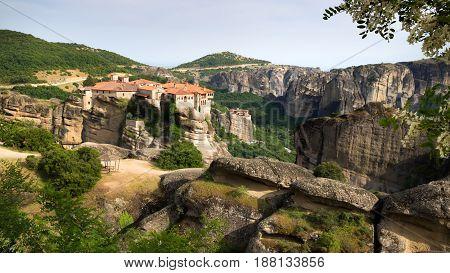Meteora Landscape Greece
