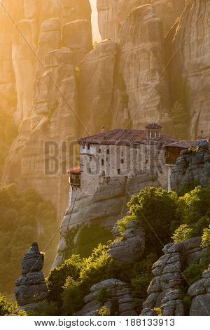 Meteora Monastery Landmark Greece