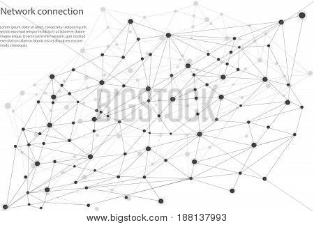 Global network background. Internet networking concept .