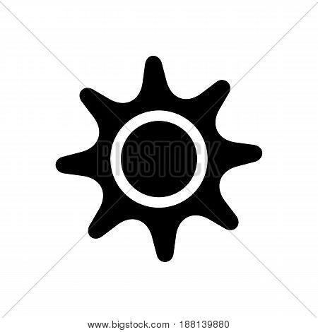 Sun Icon. Beach And Vacation Icon Vector Illustration
