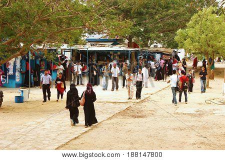 University of Karachi - Students at Prem Gali PG Canteen 25/09/2012