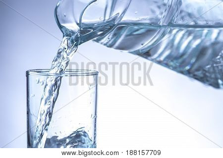 Pouring Water From Pitcher