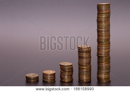 Gold Coin Stack