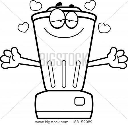 Cartoon Blender Hug