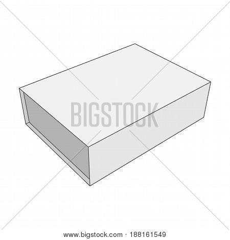 White Box vector Template for Your Business and Retail