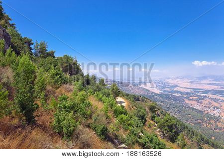Mountains In The North Of Israel