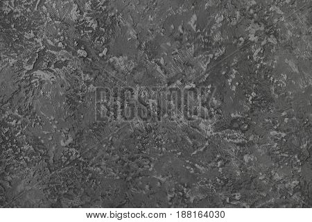 Concrete wall background texture. Grey color .