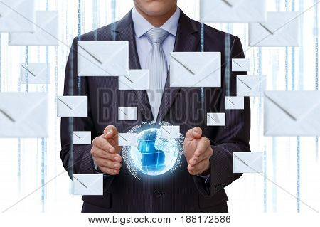 Business Mailing In The Global Network .