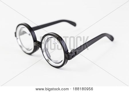 Plastic glasses with crystal detail great graduation goggles vision problems myopia