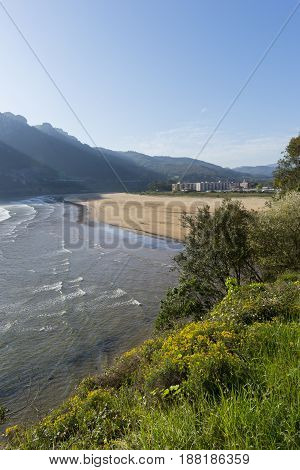 The Orion Beach From Sonabia In Cantabria