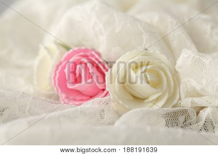 Gentle Background For Wedding Cards And Invitations