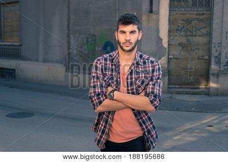 Young Man Portrait, Graffiti Village, Old City