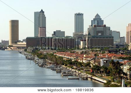 Tampa downtown, Florida