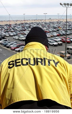 Security guard surveillance
