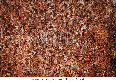 Metal rust wall texture surface natural color use for background