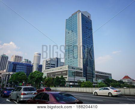 Modern Buildings In Singapore