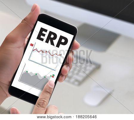 Erp Navigation Business, Technology, Internet And Network