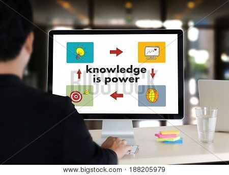 Knowledge Is Power Strategy Plan Teamwork Education Training