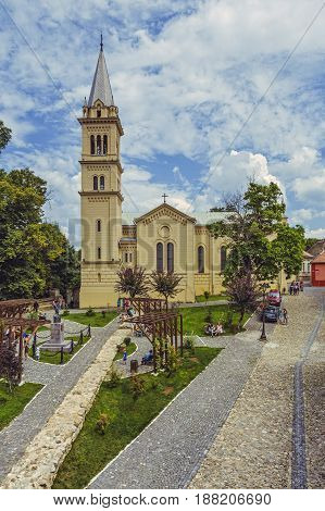 Saint Joseph Cathedral, Sighisoara, Romania