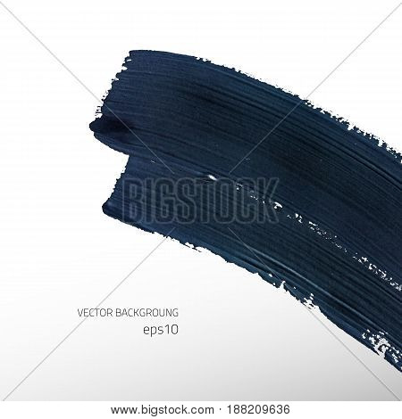 Vector grunge abstract background. Colot texture. Vector design elements. Dark smear background.