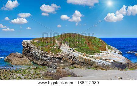 Sunshiny Blossoming Atlantic Coast (galicia).