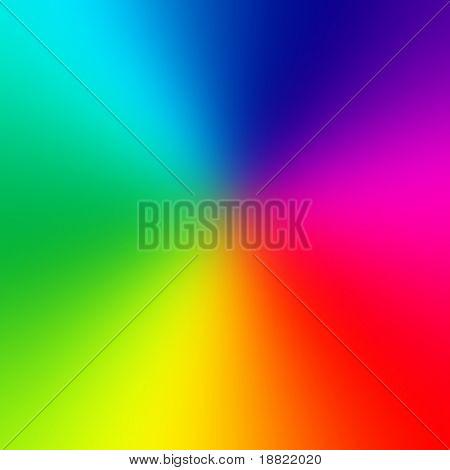Roda de cor lisa