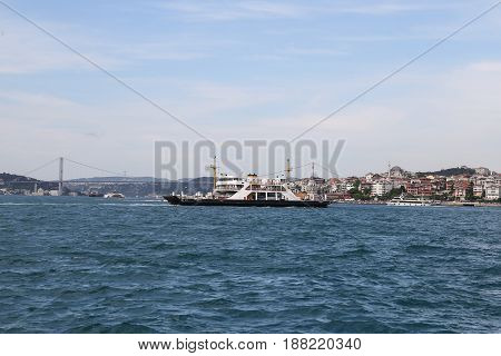 Ferry In Istanbul