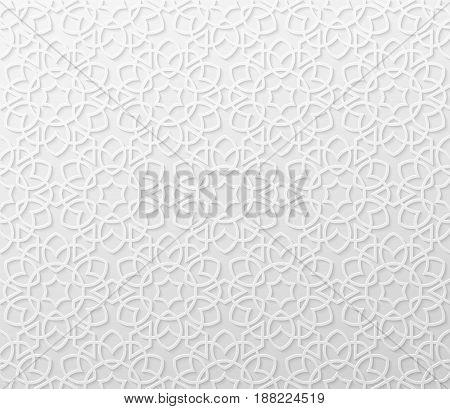 Arabic girish seamless pattern. Background for festive design. Ramadan Kareem, Eid mubarak. Vector illustration EPS10