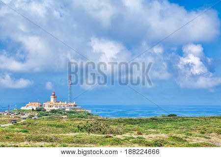 Cabo da roca the western point of Europe
