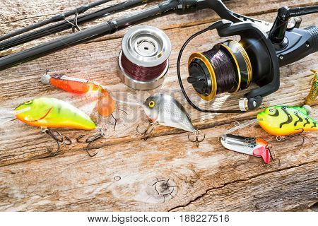 The concept of wandering. Items needed to fish fish.