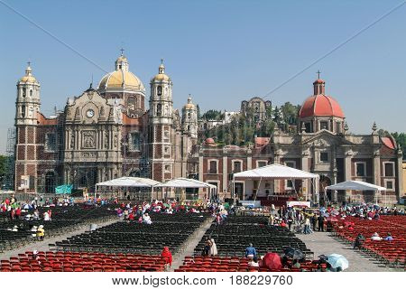 Basilica Of Our Lady Of Guadalupe At Mexico City, Mexico