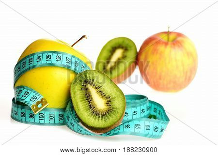 Concept Of Low Calorie Food And Healthy Diet