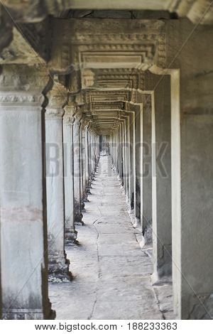 Angkor Wat Temple in Cambodia South Asia