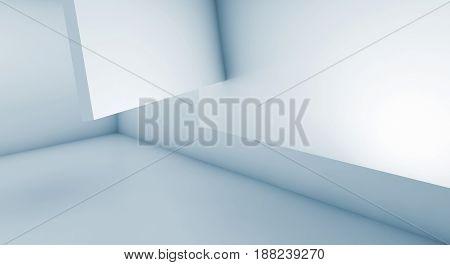 Architecture Design. 3D Illustration