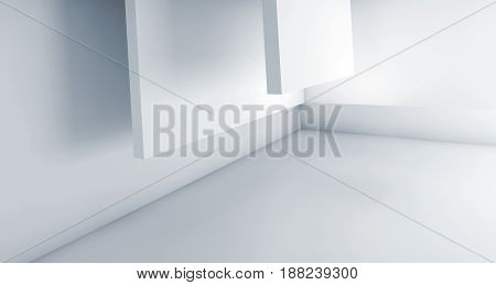 Abstract Blue White Background, Geometric