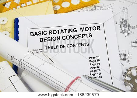 Basic Rotating Motor Design Concept