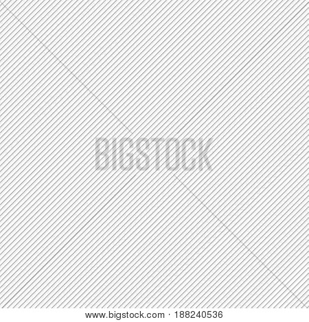 Background With Diagonal Grey Lines, Vector Illustration