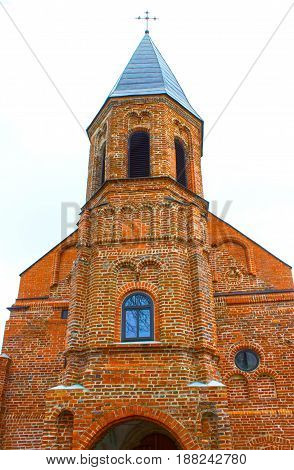 The old catholic church of St. Gertrude at Kaunas, Lithuania