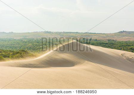 White sand dunes at Mui Ne Vietnam