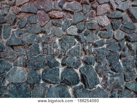 Part of stone wall for background or texture