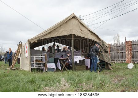 Tent Of Medical Care
