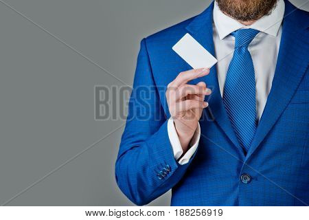 Boss Or Man With Business Or Credit Card, Business Ethics