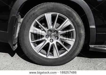 Toyota Highlander Crossover Car Wheel